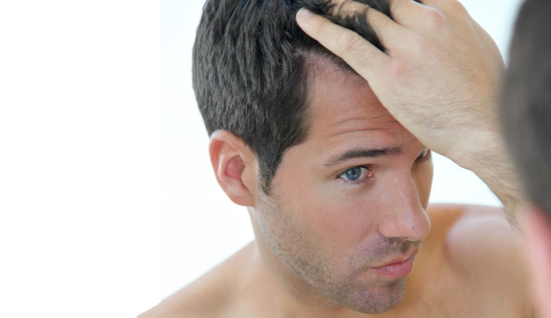 Olio di aglio per una ricostruzione di capelli