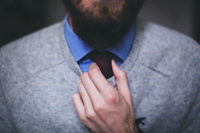 calvizie barba