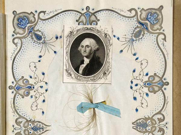 George Washington non portava la parrucca