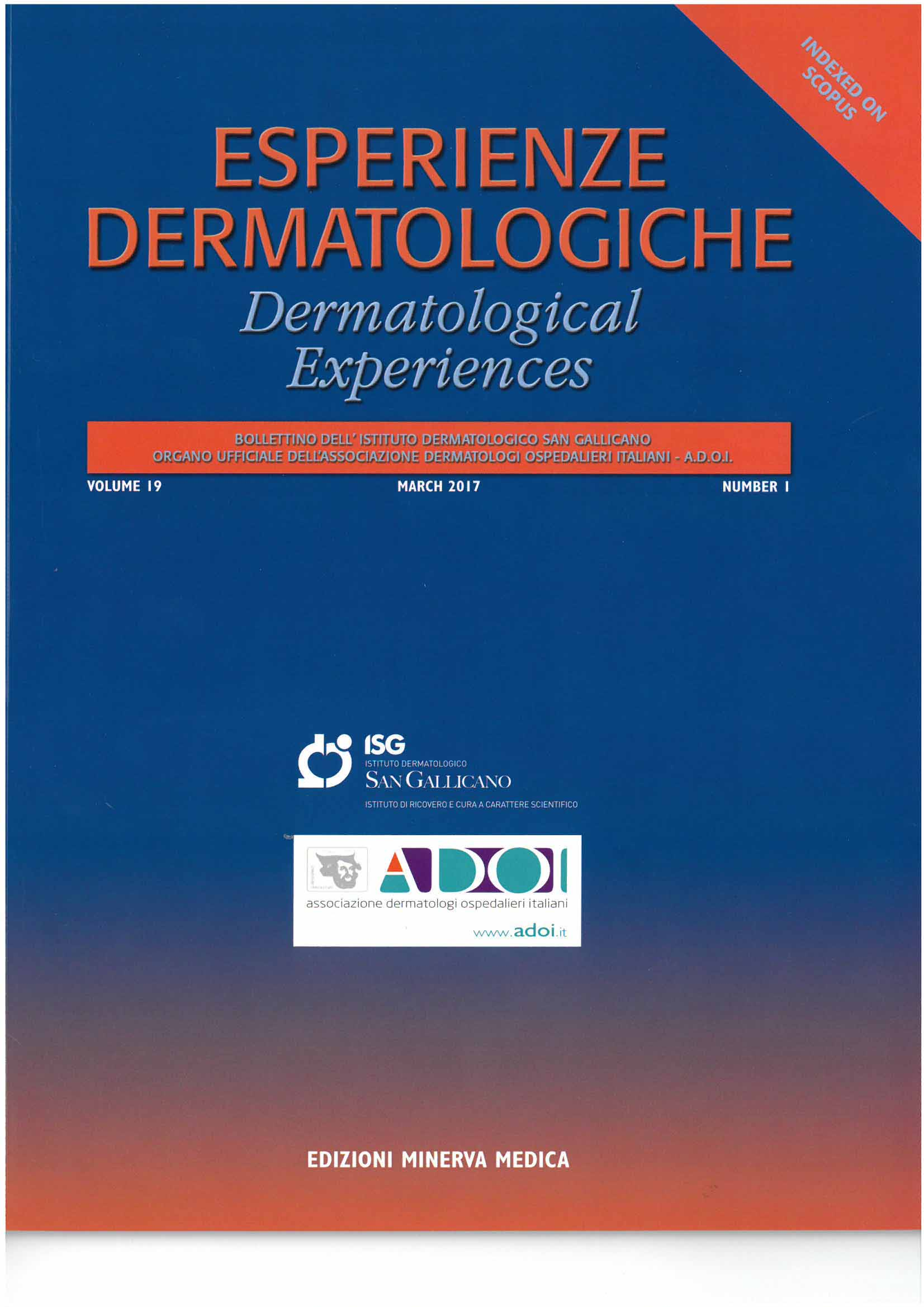 rivista esperienze dermatologiche