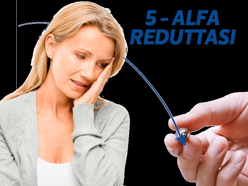 Caduta-capelli-menopausa-5-alfa-reduttasi