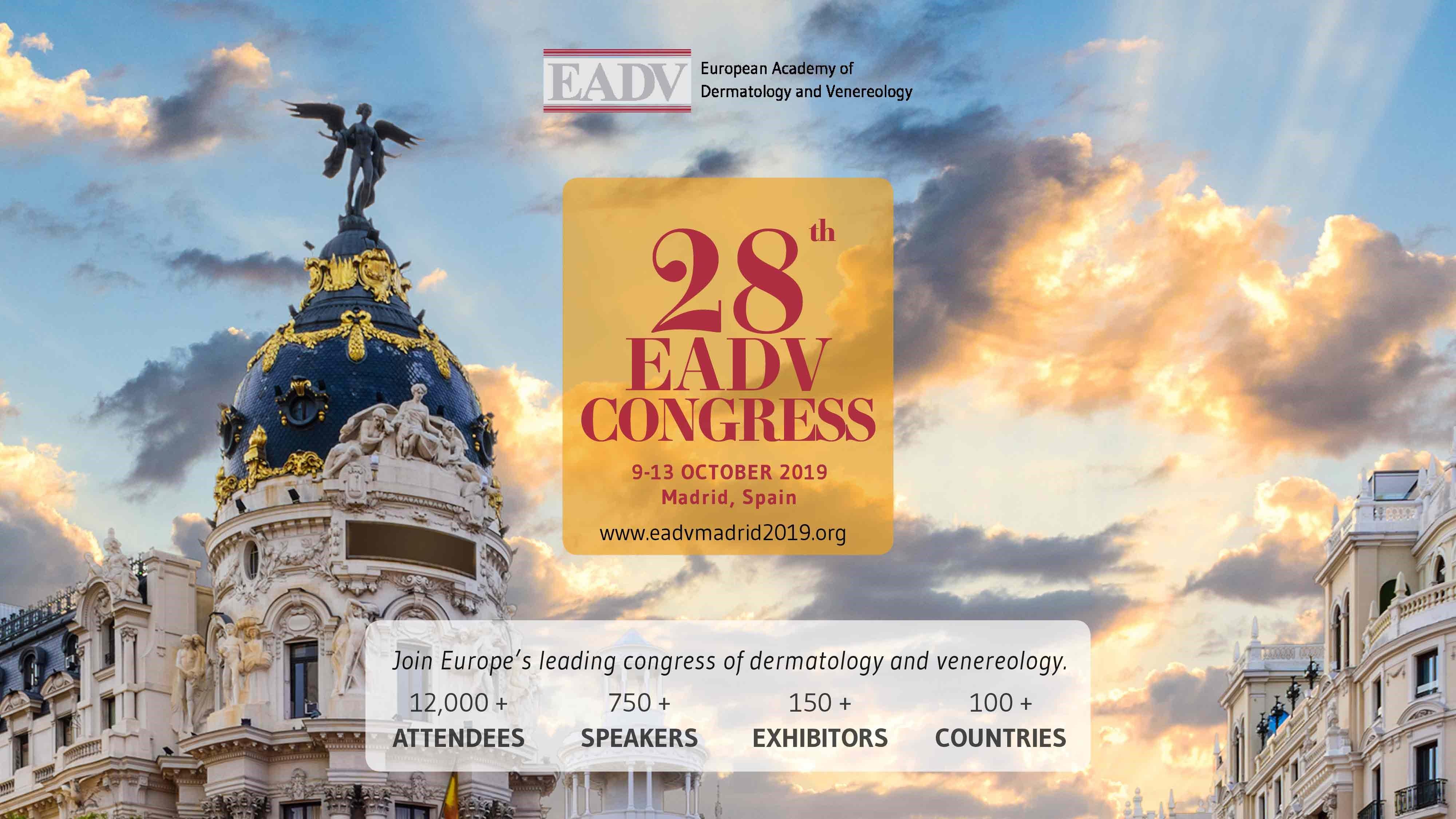 locandina congresso dermatologia 2019